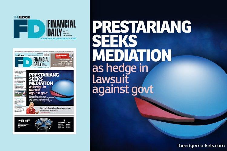 Prestariang 在起诉政府的诉讼中寻求调解